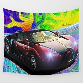 Bugatti 2 Wall Tapestry