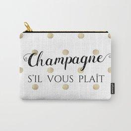 Champagne, s'il vous plaît Carry-All Pouch