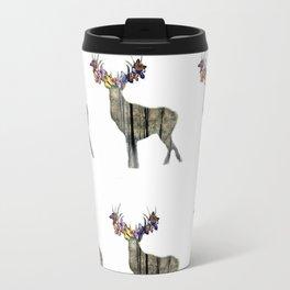 Spring with deer Travel Mug
