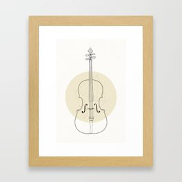 Cello II Framed Art Print