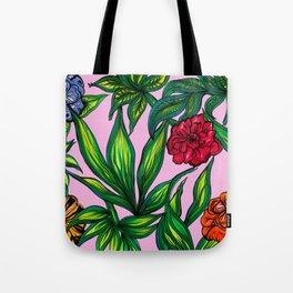 """Floral Jungle"" Tote Bag"