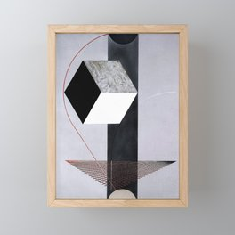 Proun 99 - El Lissitzky Framed Mini Art Print