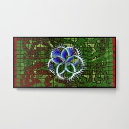 Skunkworks Chrome vol 06 03 Metal Print