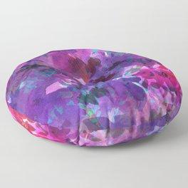 Violet Fields Floor Pillow