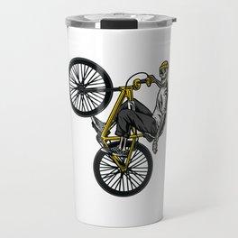 SKELETON BMX BIKE Travel Mug