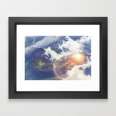 Voyage to Another Dimension Framed Art Print