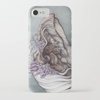 caitlin hackett iPhone & iPod Cases featuring The Mystic by Caitlin Hackett