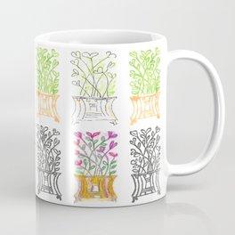 4-Seasons Flowerpots Coffee Mug