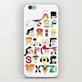 Child of the 60s Alphabet iPhone Skin