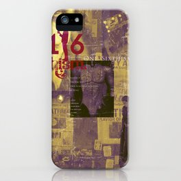 One Sixth Ism Vol.4-1 iPhone Case