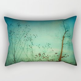 Between Autumn and Winter Rectangular Pillow