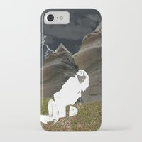 plain iPhone & iPod Cases featuring Vacant Plain by BriS