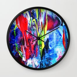 Abstract Perfection 6 Wall Clock