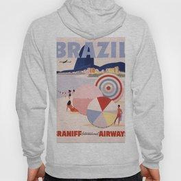 Vintage Brazil Poster Hoody