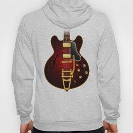 Electric Guitar ES 335 Flamed Maple Hoody