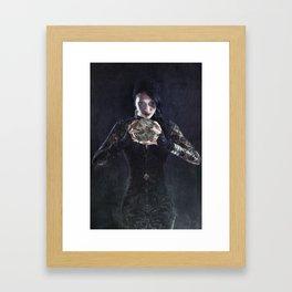 Bad Fortune Framed Art Print