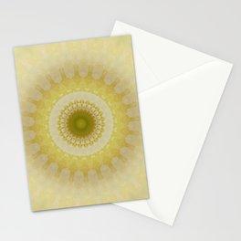 Mandala way to the light Stationery Cards