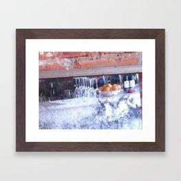 Cezanne's Bar Framed Art Print