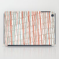 tape iPad Cases featuring tape by  Ray Athi
