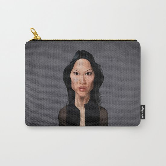 Celebrity Sunday - Lucy Liu Carry-All Pouch