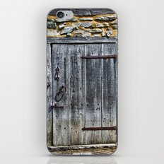 Door at the Mill iPhone & iPod Skin