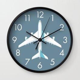 A380 Super Jumbo Jet Airliner - Slate Wall Clock