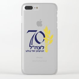 The IDF at 70! Clear iPhone Case