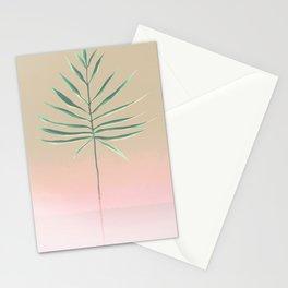 Pink & Palm Stationery Cards