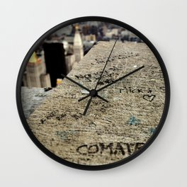 Friendship is Freedom - New York - Empire State Building Wall Clock
