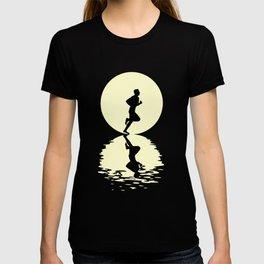 Moon Running T-Shirt T-shirt