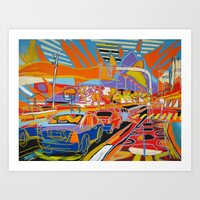 rio de janeiro Art Prints featuring Rio de Janeiro by J.Victtor