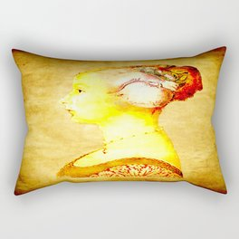 gestation Rectangular Pillow