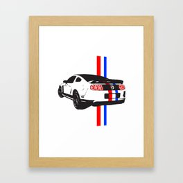 2013 Mustang Framed Art Print