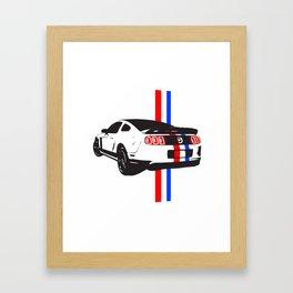 2013 Mustang Framed Art Print