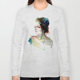 blossoming tattoos Long Sleeve T-shirt