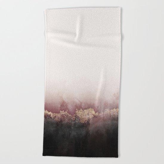 Pink Sky Beach Towel