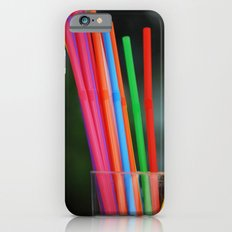 Straws iPhone 6s Slim Case