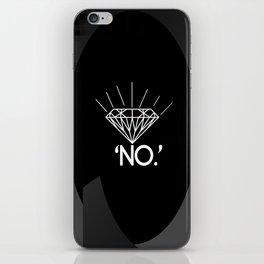 No. iPhone Skin