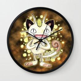 52 - Meowth Wall Clock
