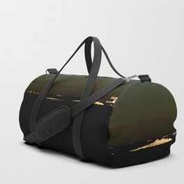 The river after sunset Duffle Bag