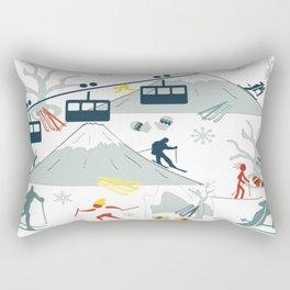 SKI LIFTS Rectangular Pillow