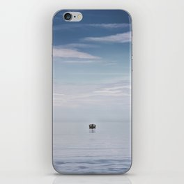 Lonely Boat iPhone Skin
