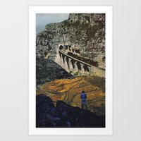 trainspotting Art Prints featuring Trainspotting by D.E • ART