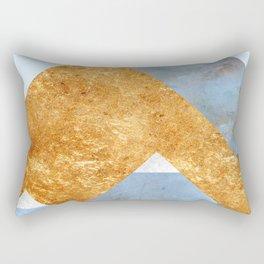 Modern Mountain No5-P2 Rectangular Pillow