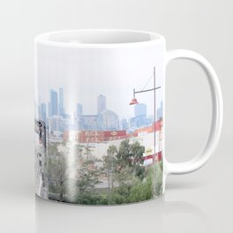 Footscray city view Coffee Mug