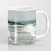 rowing Mugs featuring Torquay Heads - Rowing Regatta - Australia by Chris' Landscape Images & Designs