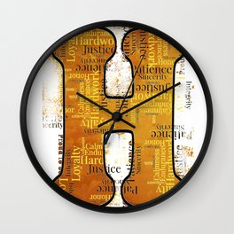 "Proud to be ""H"" Wall Clock"