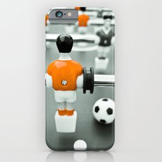 Table Football 02B - Defender | Orange iPhone 6 Slim Case
