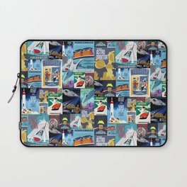Tomorrowland Vintage Attraction Posters Laptop Sleeve