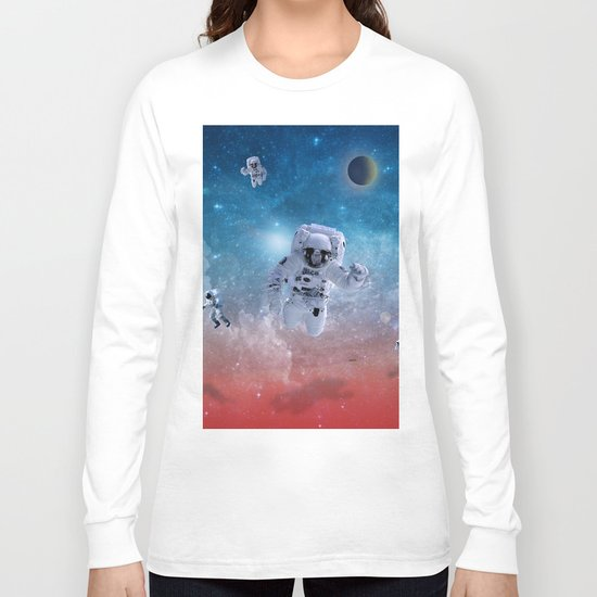 space astronaut Long Sleeve T-shirt